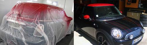 Dr. CuppeR'acing - personnalisation carrosserie et peinture